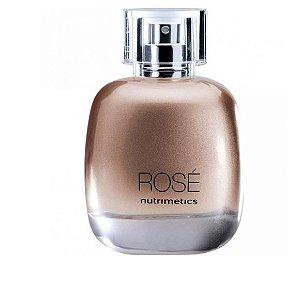 Nutrimetics Perfume Rosé Deo-Colônia Feminina 100ml Chypre Gourmand Frutal