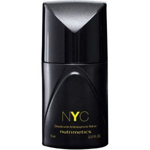Nutrimetics NYC Desodorante Antitranspirante Roll-on Masculino 75ml