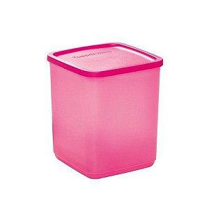 Tupperware Refri Line Quadrado 1,8 Litros Rosa