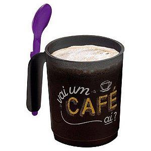 Tupperware Caneca Ilúmina com Colher Café 350 ml