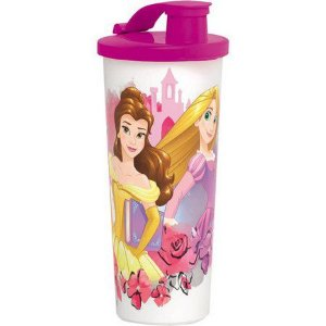 Tupperware Copo com Bico Princesas 470 ml