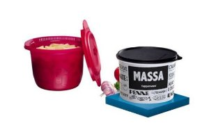 Tupperware Instant Massa Plus 3 L + Tupper Caixa Massa PB 2,4 L