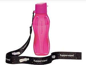 Tupperware Eco Tupper 310 ml Rosa Neon + Mega cordão Eco