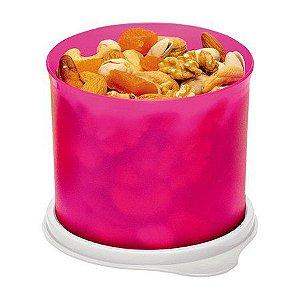 Tupperware Tupper Redondinha 500 ml Rosa Neon