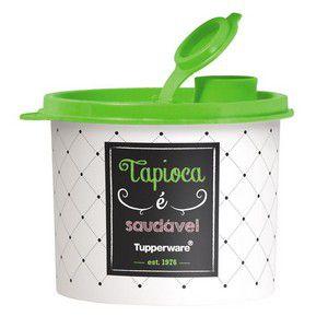 Tupperware Tupper Redondinha com Bico Dosador Tapioca Bistrô 300 g