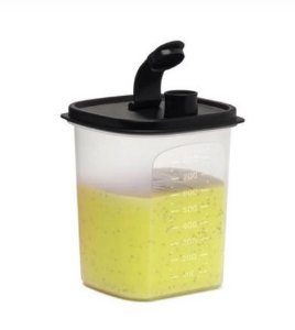 Tupperware Tupper Slim Preto 1 Litro