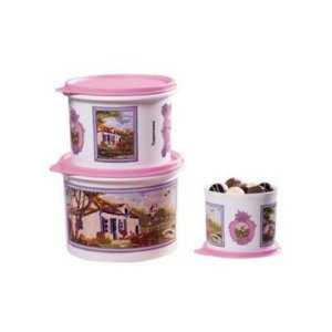 Tupperware Kit Tupper Caixas Tela