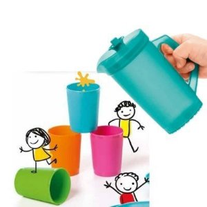 Tupperware Kit Infantil Jarra e Copos