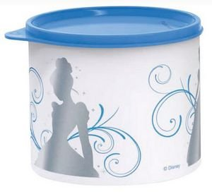 Tupperware Tupper Redondinha Cinderela 500ml