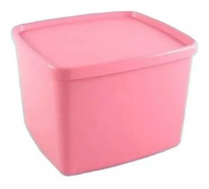 Tupperware Jeitoso Rosa Quartzo 800ml