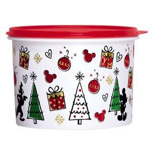Tupperware Tupper Caixa Natal Mickey 2,4 Litros