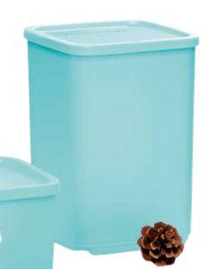 Tupperware Refri Line Quadrado Azul 2,2 Litros