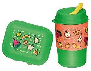 Tupperware Kit com 2 peças salada de frutas