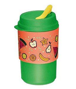 Tupperware Copo para Viagem Salada de Frutas 350ml