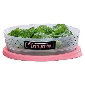 Tupperware Refri Line Redondo Temperos Bistrô 200ml
