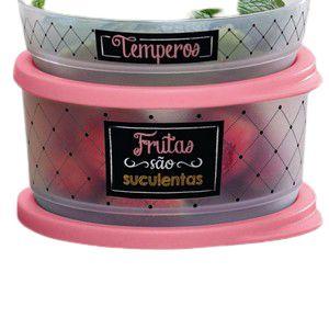 Tupperware Refri Line Redondo Frutas Bistrô 530ml