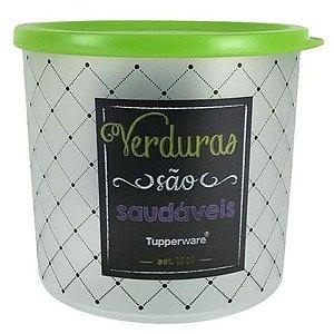 Tupperware Refri Line Redondo Verduras Bistrô 1,1 Litro