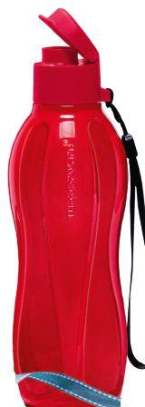 Tupperware Garrafa Eco Tupper Plus Vermelha 500ml