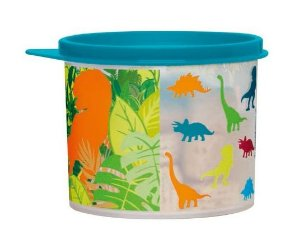 Tupperware Tupper Redondinha Jurassic Word 500ml