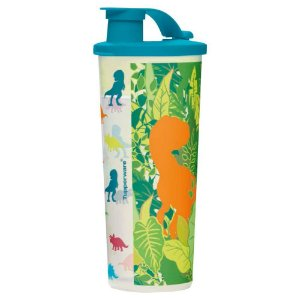 Tupperware Copo com Bico Jurassic Word 470ml
