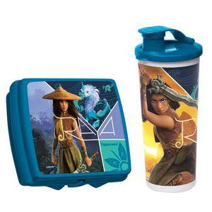 Tupperware kit com 2 peças Princesa Raya