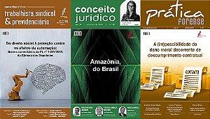 Revistas Conceito Jurídico, Prática Forense e Conceito Trabalhista digital