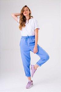 Calça Alfaiataria Laço Azul