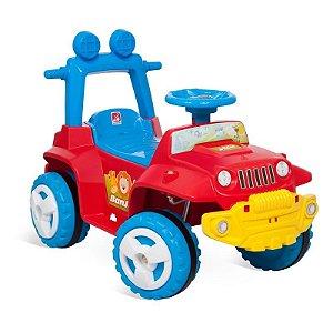 Carrinho de passeio com empurrador e capota e andador - Banjipe 1057 - Bandeirante