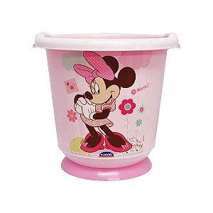 Balde para banho de ofurô em Bebês 17,2 L Minnie Plasútil