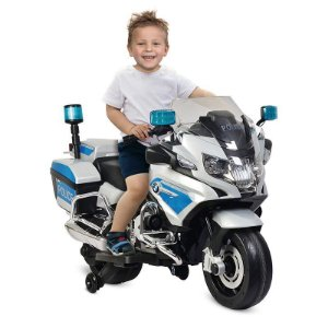 Mini Moto Eletrica Bmw R 1200 Rt Policia 12 Volts