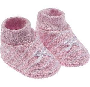Meia Sapatinho para Bebês Recém-Nascidos. Meninas
