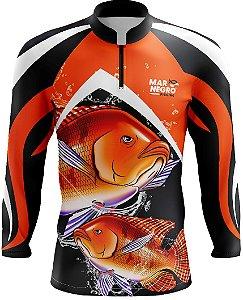Camiseta de Pesca c/ Proteção Solar - DRY FIT