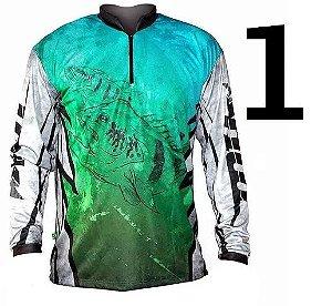 Camiseta de Pesca MTK ATTACK TAMBAQUI - C/ Proteção Solar - DRY FIT