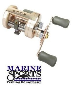Carretilha para Pesca - Marine Sports FIERRO 6000 Xwl Perfil Alto - Esquerda