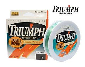 Linha Triumph 0,30mm 300 Metros Verde Claro 14 lb 16 lb 20 lb 25 lb 30 lb Libras
