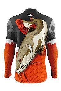 Camiseta para Pesca - Proteção Solar 50+ UV - Pirarara