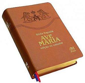 BÍBLIA AVE-MARIA EDIÇÃO DE ESTUDOS