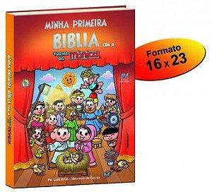 MINHA PRIMEIRA BÍBLIA COM A TURMA DA MÔNICA (INFANTIL)