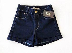 Shorts Jeans Hot com Barra Dobrada