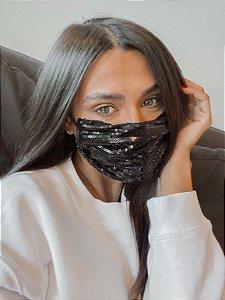 Mascara de Tecido Paetes