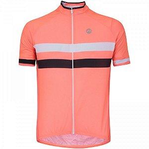 Camisa de Ciclismo Barbedo Giro Salmão