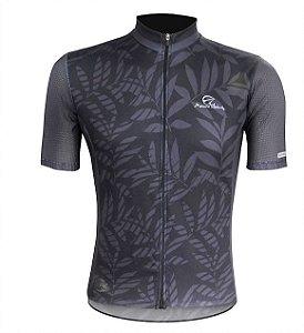 Camisa de Ciclismo Mauro Ribeiro Tropical Black