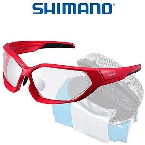 Óculos Shimano Serie X CE S51X  Preto com Vermelho