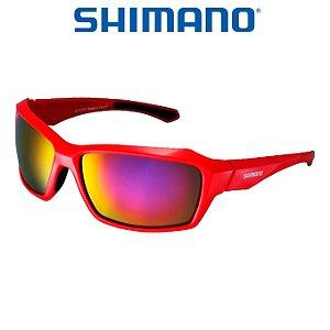 Óculos Shimano Serie X CE S22X  Vermelho