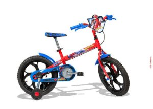 Bicicleta Infantil Masculina Spider Man Aro 16