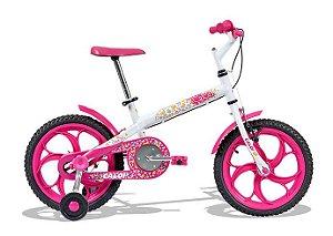Bicicleta Infantil feminina Ceci Aro 16