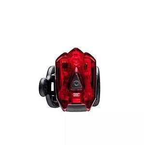 Luz Lanterna Traseira Bicicleta Infini I-260 R Recarregável