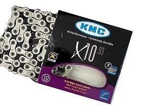 Corrente Kmc X10.93 10v 116 Links 20v 30v Com Missinglink