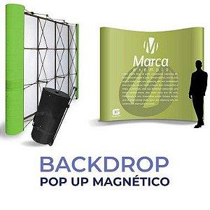 Painel Backdrop - Pop Up Magnético