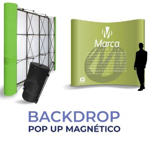 Backdrop - Pop Up Magnético